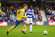Leeds United Midfielder Jack Clarke (47) during the The FA Cup match between Queens Park Rangers and Leeds United at the Loftus Road Stadium, London, England on 6 January 2019.