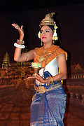 Traditional Cambodian dancer