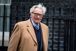 © Licensed to London News Pictures. 07/02/2017. London, UK. Michael Heseltine arriving at Downing Street. Photo credit : Tom Nicholson/LNP