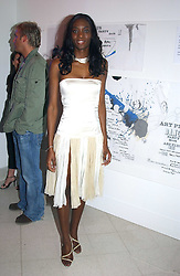 Model ANTOINETTE WILLIAMS at the Art Plus Dance Party 2005 - an evening of live dance, film and partying held at the Whitechapel Art Gallery, 80-82 Whitechapel High Street, London on 21st March 2005.<br /><br />NON EXCLUSIVE - WORLD RIGHTS