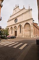 VICENZA, CENTRO STORICO, FACCIATA DEL DUOMO, VENETO, ITALIA