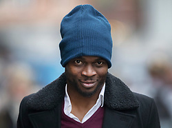 © Licensed to London News Pictures. 12/12/2016. London, UK. arrives at the Old Bailey. Former Premier League player Sam Sodje and three of his brothers have been charged with fraudulent trading in connection with their Sodje Sports Foundation charity. Photo credit: Peter Macdiarmid/LNP