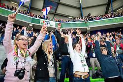 Spectators - Opening Ceremony - Alltech FEI World Equestrian Games™ 2014 - Normandy, France.<br /> © Hippo Foto Team - Jon Stroud<br /> 24/06/14