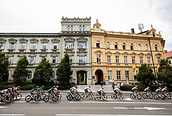 Peloton in Celje  during 1st Stage of 26th Tour of Slovenia 2019 cycling race between Ljubljana and Rogaska Slatina (171 km), on June 19, 2019 in  Slovenia. Photo by Vid Ponikvar / Sportida