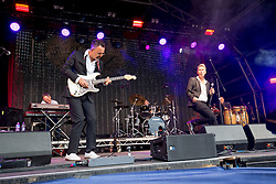 Hipsway play the main stage. Sunday at Party at the Palace 2017, Linlithgow.