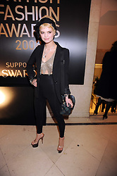 PIXIE GELDOF at the 2008 British Fashion Awards held at the Lawrence Hall, Westminster, London on 25th November 2008.
