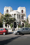Israel, Tel Aviv, 27 Rothschild Boulevard, Eclectic style building