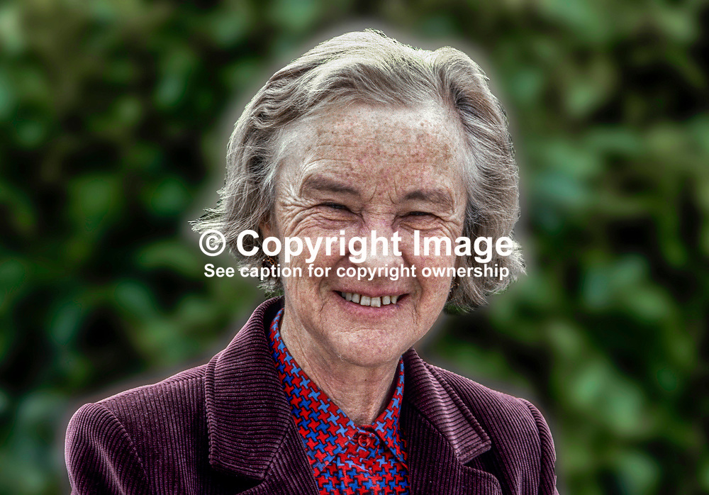 Dame Josephine Barnes, first woman president, British Medical Association, UK, April, 1980, 198004005489<br /> <br /> Copyright Image from images4media.com (or the named photographer)