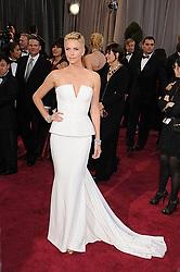 Feb. 24, 2013 - Los Angeles, California, USA - Feb 24, 2013 - Los Angeles, California, USA - Actress CHARLIZE THERON   at the  85th Academy Awards held at the Hollywood & Highland Complex. (Credit Image: © Paul Fenton/ZUMAPRESS.com)