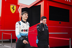 February 20, 2019 - Barcelona, #63 George Russell (G,  #63 George Russell (GBR Team W, Spain, #63 George Russell (GBR Team Williams - RUSSELL George (gbr), Williams Racing F1 FW42, portrait Ferrari illustration during Formula 1 winter tests from February 18 to 21, 2019 at Barcelona, Spain - Photo  /  Motorsports: FIA Formula One World Championship 2019, Test in Barcelona,, #63 George Russell (GBR Team Williams) (Credit Image: © Hoch Zwei via ZUMA Wire)