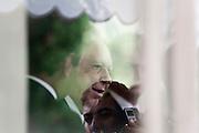Belo Horizonte_MG, 08 de Fevereiro de 2010.....O vice-presidente Jose Alencar (PRB) se encontra com o governador de Minas Gerais Aecio Neves (PSDB) no Palacio das Mangabeiras, residencia ofical do governador de Minas...Foto: LEO DRUMOND / NITRO