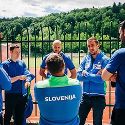 20200526: SLO, Meeting of Slovenian national handball team