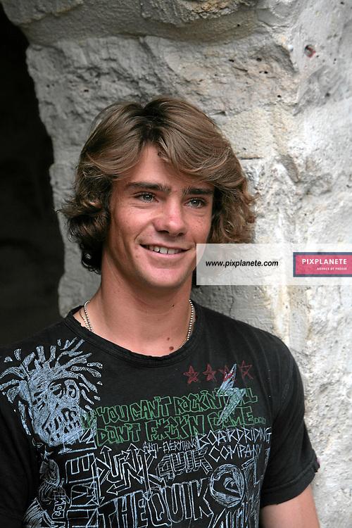 Mathieu Crepel - Snowboard - présentation de l'équipe de France de ski 2007-2008 - Photos exclusives - 9/10/2007 - JSB / PixPlanete