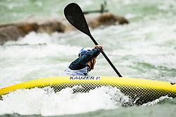 Peter Kauzer of Slovenia during Kayak Semi Finals at World Cup Tacen, 17 October 2020, Tacen, Ljubljana Slovenia. Photo by Grega Valancic / Sportida