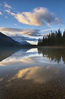 Sunrise at Emerald Lake, Yoho National Park British Columbia