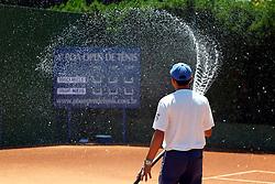 Imagens gerais do quarto Porto Alegre Open de Tênis que está sendo realizado nas quadras de saibro da sede Alto Petrópolis do Grêmio Náutico União (GNU), em Porto Alegre. Foto: Marcos Nagelstein/Preview.com