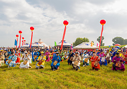 September 4, 2017 - Hohhot, Hohhot, China - Hohhot, CHINA-4th September 2017:(EDITORIAL USE ONLY. CHINA OUT) The Nadam Fair is held in Hohhot, north China's Inner Mongolia, featuring vairous traditional activities. (Credit Image: © SIPA Asia via ZUMA Wire)