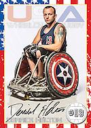 2012 Team USA Wheelchair Rugby Team.  Paralympics, London