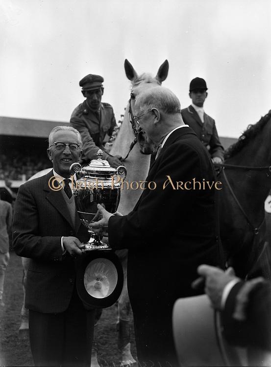 Aga Khan Cup at Horse Show..10.08.1962