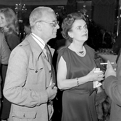 29 May 1980 - Margaret, Duchess of Argyll and Larry Adler at a reception in London.<br /> <br /> Photo by Desmond O'Neill Features Ltd.  +44(0)1306 731608  www.donfeatures.com