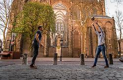 19-04-2016 NED: Portret Jelle van Jaarsveld, Utrecht<br /> Van Jaarsveld was 2002-2007 Nederlands jeugdinternational. Tot 2007 speelde hij bij Martinus Amstelveen en vervolgens bij Ortec Rotterdam Nesselande. Na de tweede plaats in 2008, werd hij landskampioen in 2009. Daarna speelde hij voor het  Belgische Aquacare Halen, Precura Antwerpen en het Duitse Evivo Düren en Moerser SC. Uiteindelijk speelt hij weer in Nederland bij Taurus Houten