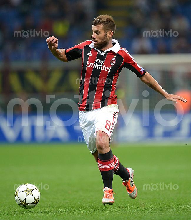 FUSSBALL   CHAMPIONS LEAGUE   SAISON 2012/2013   GRUPPENPHASE   AC Mailand - Anderlecht                            18.09.2012 Nocerino Antonio (AC Mailand)