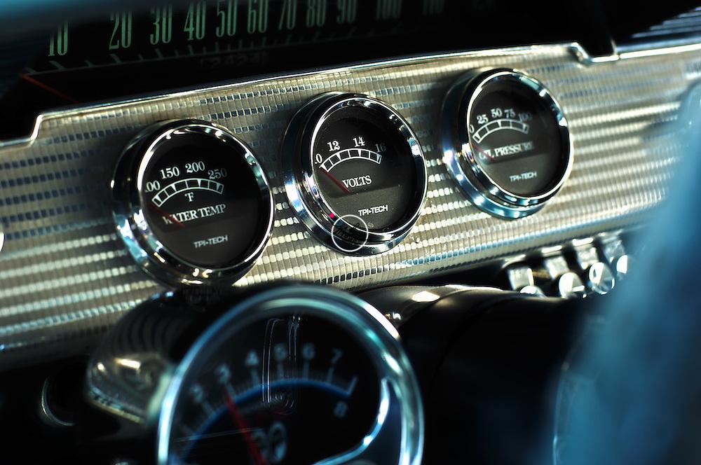 Chevy Impala, 1962, Dash, dashboard, classic, restored