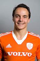 NAALDWIJK - Hockey - Pepijn Luijkx van Jong Oranje Heren, dat in december het WK in India zal spelen. COPYRIGHT KNHB/KOEN SUYK