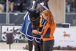 ROCKXHelgstrand Andreas, DEN, Jovian,  ten Bosch<br /> World Championship Young Horses Verden 2021<br /> © Hippo Foto - Dirk Caremans<br />  29/08/2021