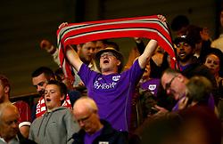 Bristol City fans at Watford - Mandatory by-line: Robbie Stephenson/JMP - 22/08/2017 - FOOTBALL - Vicarage Road - Watford, England - Watford v Bristol City - Carabao Cup