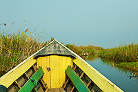 Inle Lake Boat - Inle Lake is a body of water located in Shan State of Burma, and the second largest lake in Myanmar.