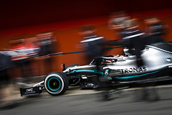 February 21, 2019 - Barcelona Barcelona, Espagne Spain - HAMILTON Lewis (gbr), Mercedes AMG F1 GP W10 Hybrid EQ Power+, action during Formula 1 winter tests from February 18 to 21, 2019 at Barcelona, Spain - Photo  Motorsports: FIA Formula One World Championship 2019, Test in Barcelona, (Credit Image: © Hoch Zwei via ZUMA Wire)