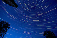 Straight Up Star Trails. Autumn Night Sky in New Jersey. Image taken with a Nikon D3x and 14-24 mm f/2.8 mm lens (ISO 100, 14 mm, f/4, 1 min 59 sec). Composite of 37 images combined using the Startrails program.