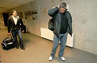 Fotball , 26 mars 2006 , Treningskamp Viking - Brann , Mons Ivar Mjelde og Martin Andresen