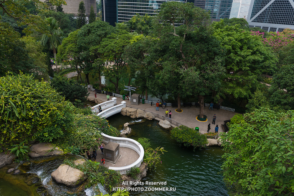 Hong Kong Park in Central, Hong Kong