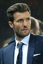 12th September 2017 - UEFA Champions League - Group A - Manchester United v FC Basel - Basel coach Raphael Wicky - Photo: Simon Stacpoole / Offside.