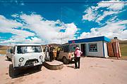 Mongolian petrol station