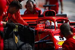 July 20, 2018 - Hockenheim, Germany - Motorsports: FIA Formula One World Championship 2018, Grand Prix of Germany, ..#5 Sebastian Vettel (GER, Scuderia Ferrari) (Credit Image: © Hoch Zwei via ZUMA Wire)
