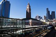King Street Station i Seattle. <br /> <br /> Foto: Christina Sjögren