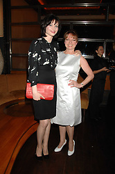 Left to right, singer SOPHIE ELLIS-BEXTOR and her mother JANET ELLIS at a party to celebrate the launch of Cavalli Selection - the first ever wine from Casa Cavalli, held at 17 Berkeley Street, London W1 on 29th May 2008.<br /><br />NON EXCLUSIVE - WORLD RIGHTS