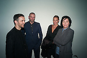 DAMON MURRAY; TIPHAINE DE LUSSIS; SHARLEEN SPITERI, Nihilistic optimistic Tim Noble and Sue Webster. BlainSouthern, Hanover Sq.  and afterwards at Tramp. London. 9 October 2012.