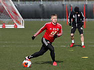 Ben Osborn of Sheffield Utd during a training session at the Steelphalt Academy, Sheffield. Picture date: 5th March 2020. Picture credit should read: Simon Bellis/Sportimage
