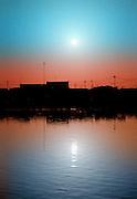 Africa - Sunset over Saint-Louis Senegal