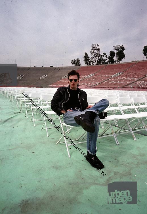 Alan Wilder - Depeche Mode performing live at Pasadena Rose Bowl, June 1988.