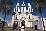 Tonala, Guadalajara, Jalisco, Mexico, church, catholic, spire