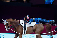 Vaulter Lukas Heppler  and his horse Monaco Franze during Madrid Horse Week at Ifema in Madrid, Spain. November 26, 2017. (ALTERPHOTOS/Borja B.Hojas)