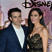 Will Stoppard and Linzi Stoppard attend The Nutcracker and the Four Realms - UK premiere at Vue Westfield, Westfield Shopping Centre, Ariel Way on 1st Nov 2018, London, UK.
