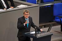 DEU, Deutschland, Germany, Berlin, 31.01.2019: Reinhard Houben, wirtschaftspolitischer Sprecher der FDP, bei einer Rede während einer Plenarsitzung im Deutschen Bundestag.