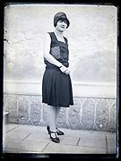 portrait of woman France circa 1920s