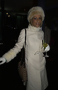 Emily Maitlis. Opening of the Absolut Icebar. Heddon St. London. 29 September 2005. ONE TIME USE ONLY - DO NOT ARCHIVE © Copyright Photograph by Dafydd Jones 66 Stockwell Park Rd. London SW9 0DA Tel 020 7733 0108 www.dafjones.com